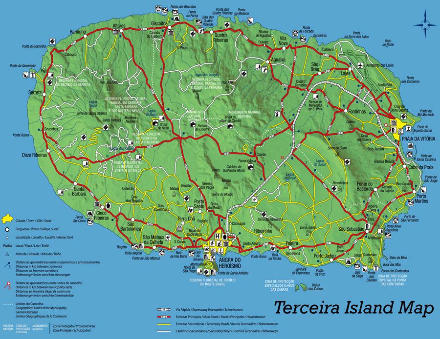 Terceira map