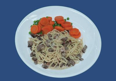 creamy Spaghetti Meat