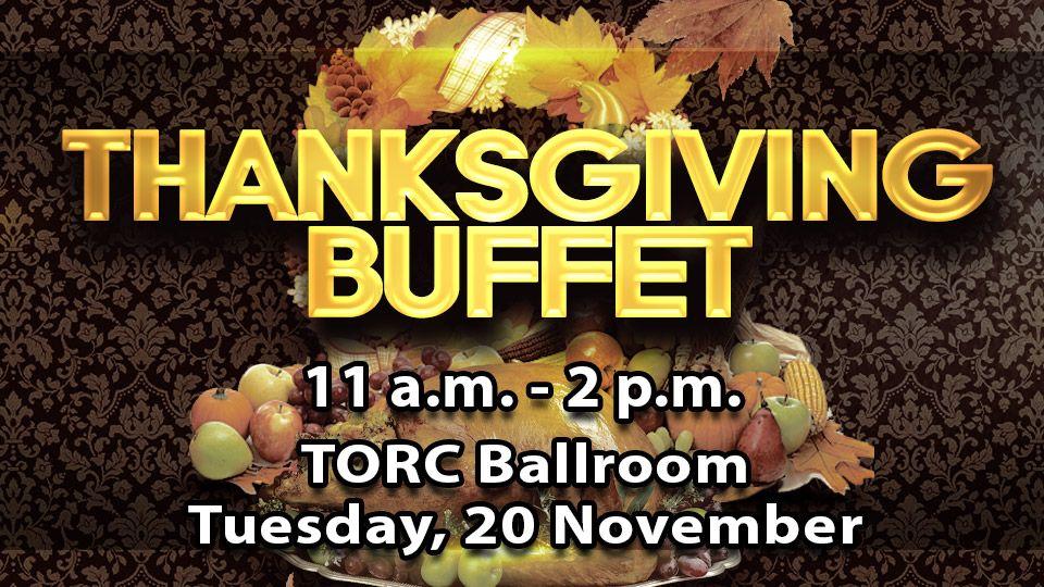 Thanksgiving Lunch Buffet