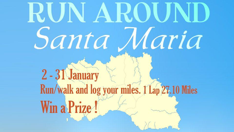 Running Santa Maria January 2018