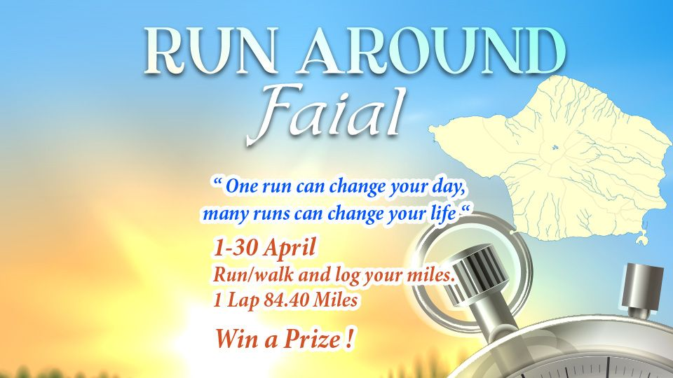Running Faial April 18