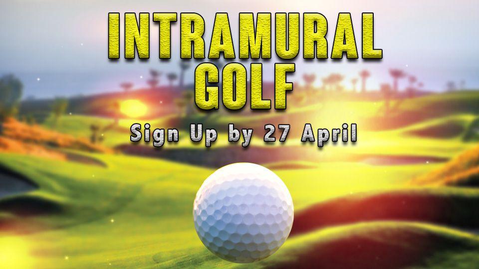 Intramural Golf