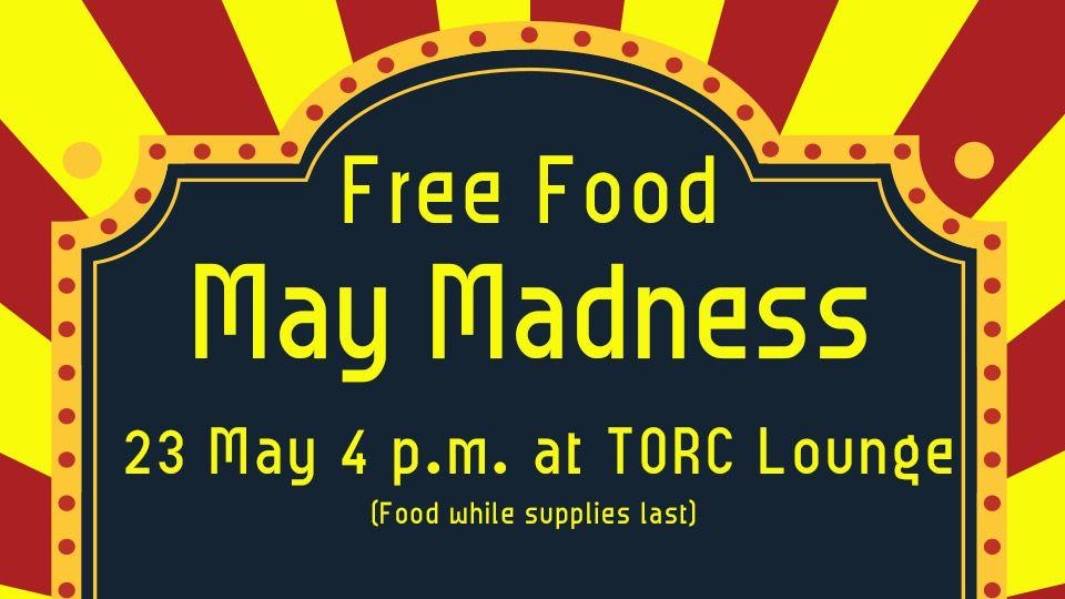 Free Food May Madness
