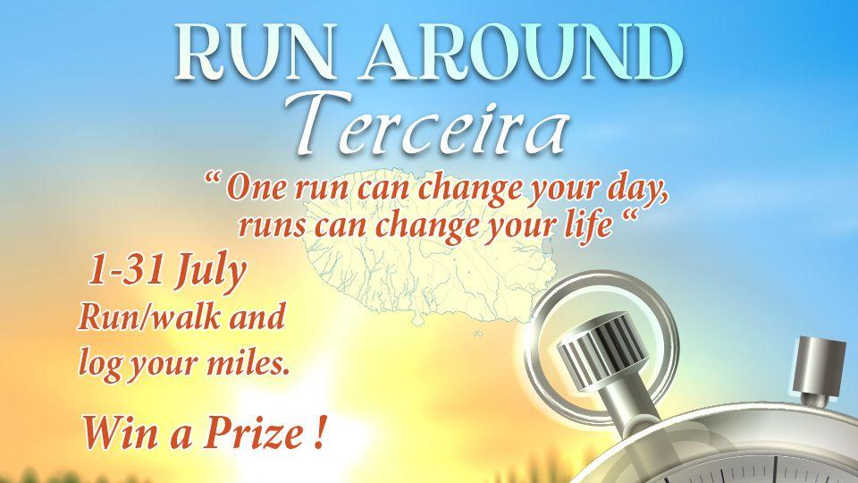 Running Around Terceira