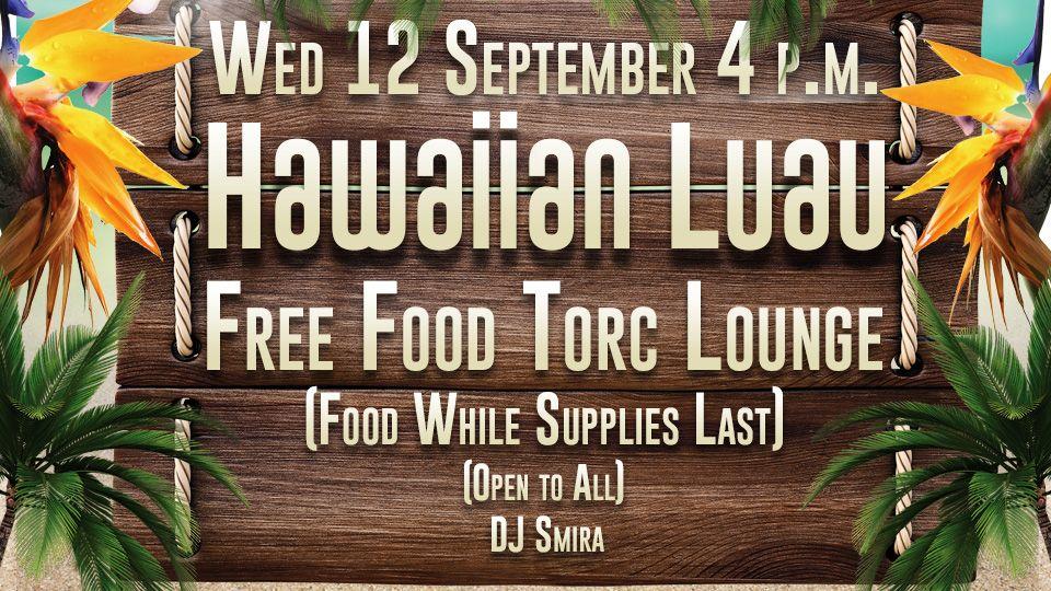 Free Food Hawaiian Luau