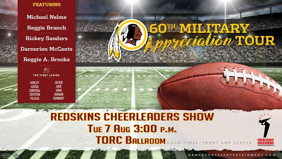 Redskins Cheerleaders Show