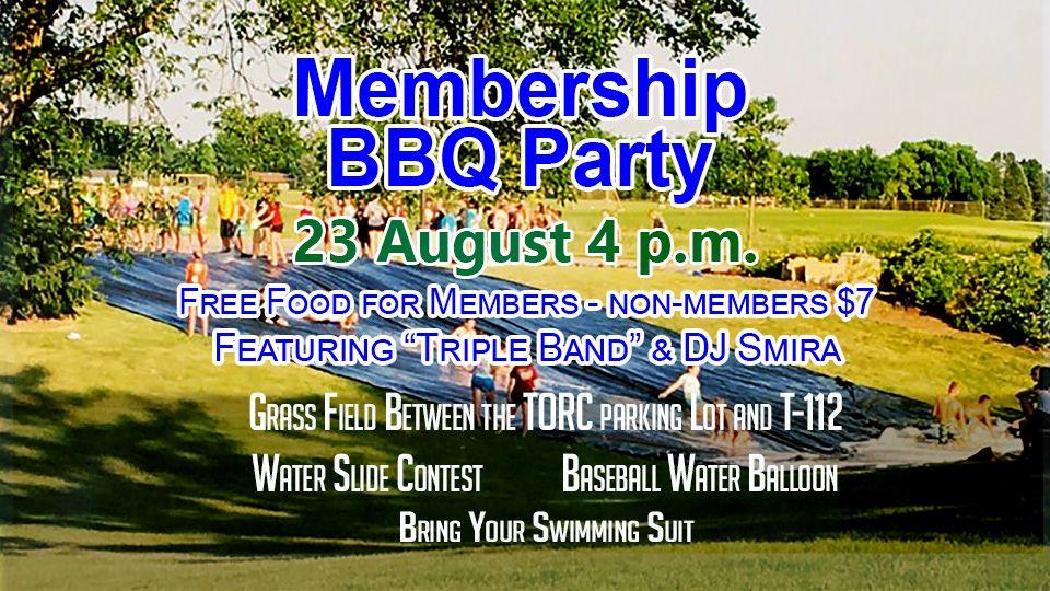 Membership BBQ Party