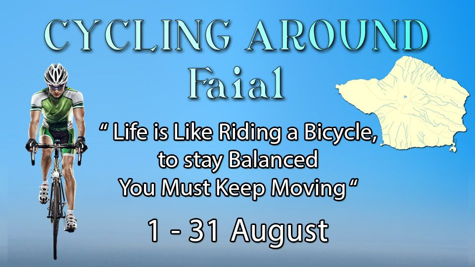 CYCLING AROUND Faial