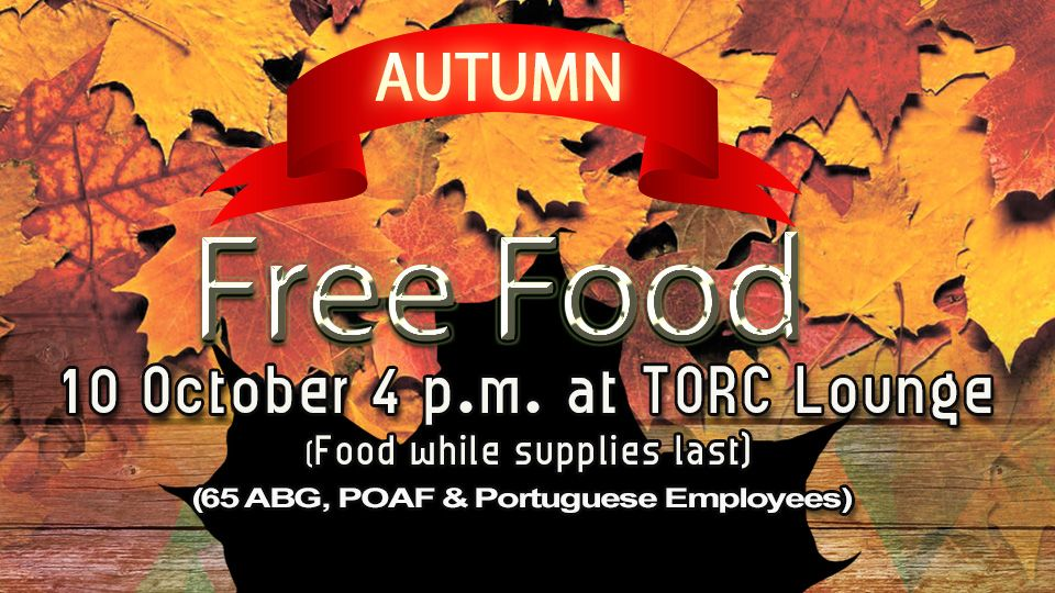 Free Food Autumn