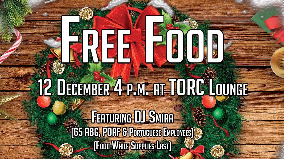 Free Food December
