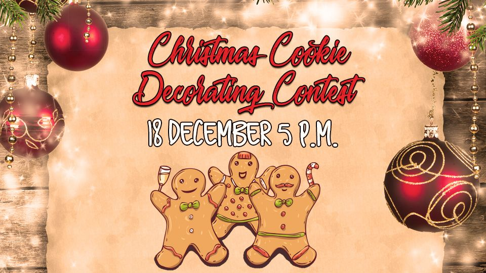Christmas Cookie Decorating Contest