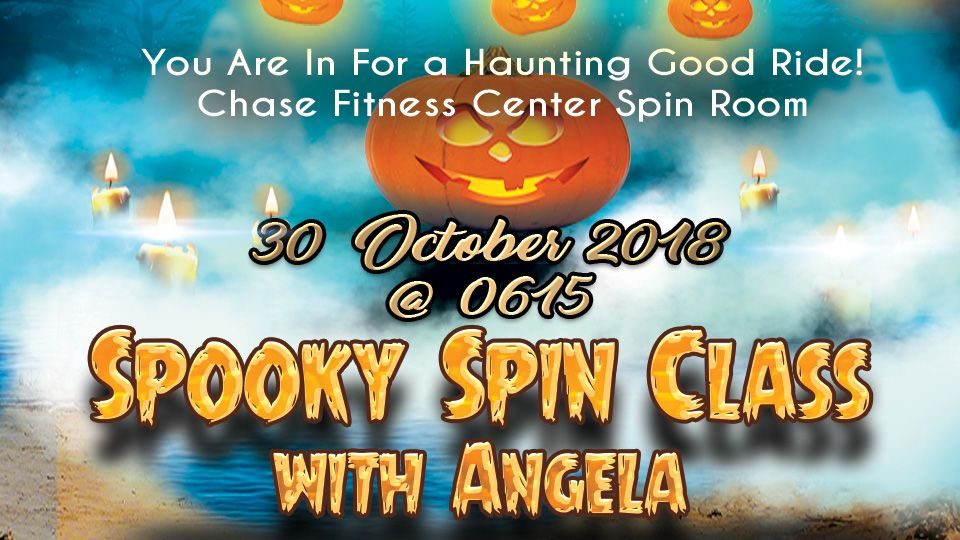 Spooky Spin Class with Angela