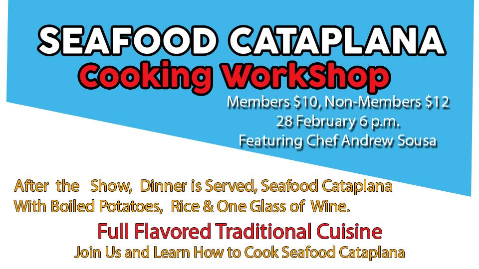 SeaFood Cataplana Cooking WorkShop