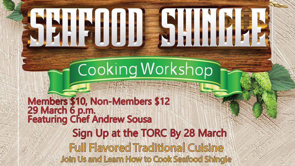 Seafood Shingle Cooking Workshop