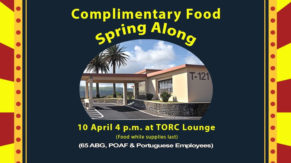 Complimentary Food Spring Along
