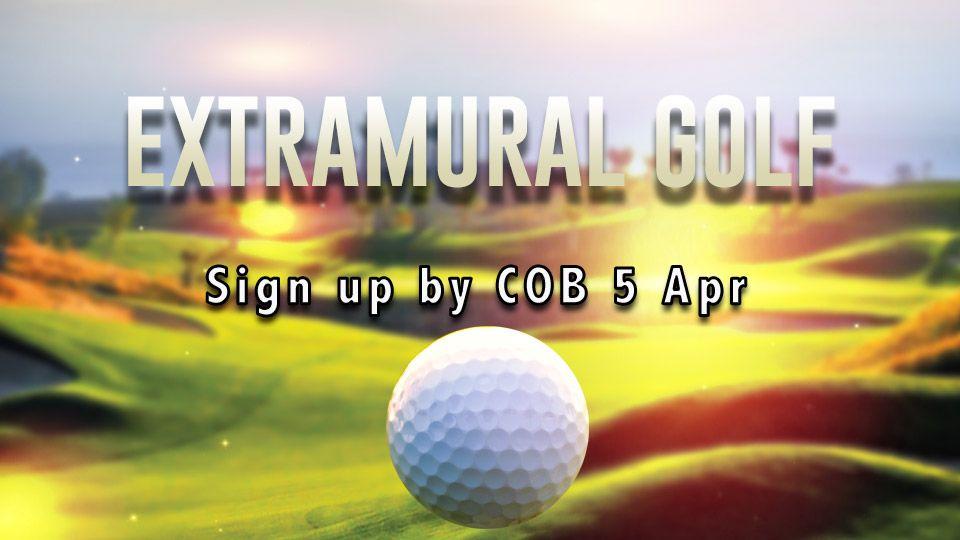 Extramural Golf