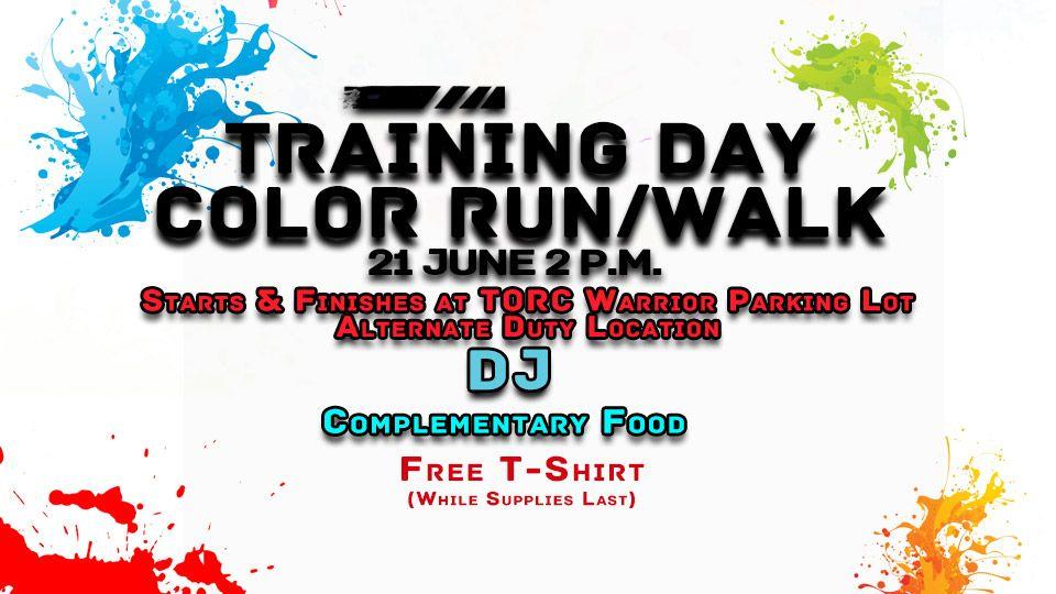Training Day Color Run/walk