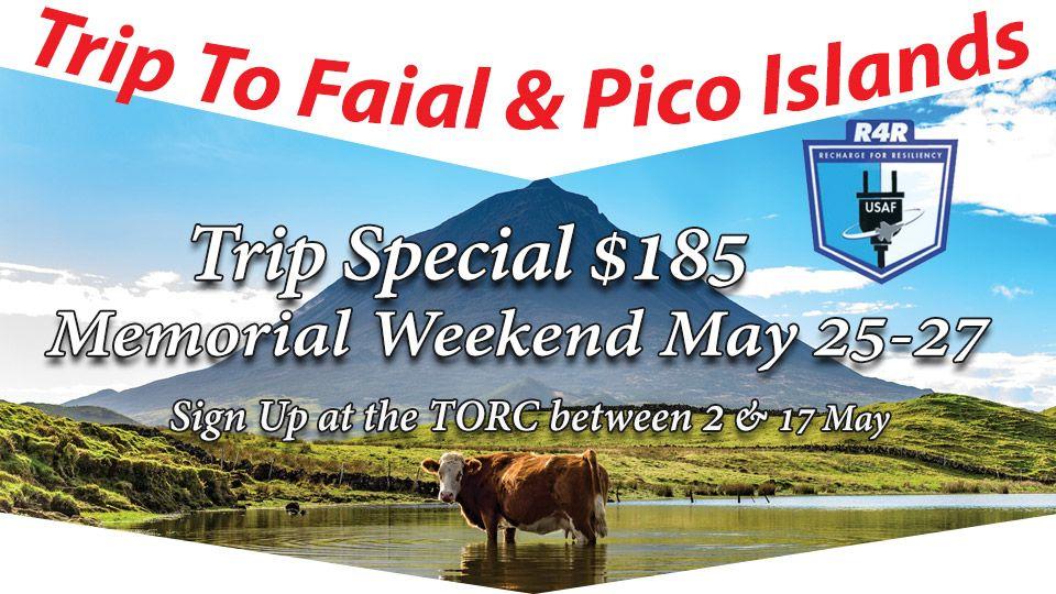 R4R Trip To Faial & Pico Islands