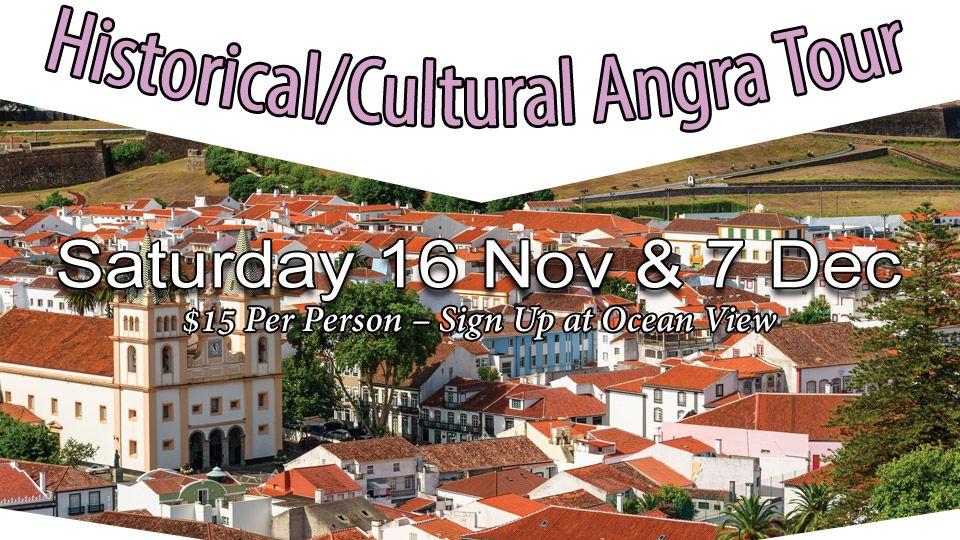 Historical/Cultural Angra Tour