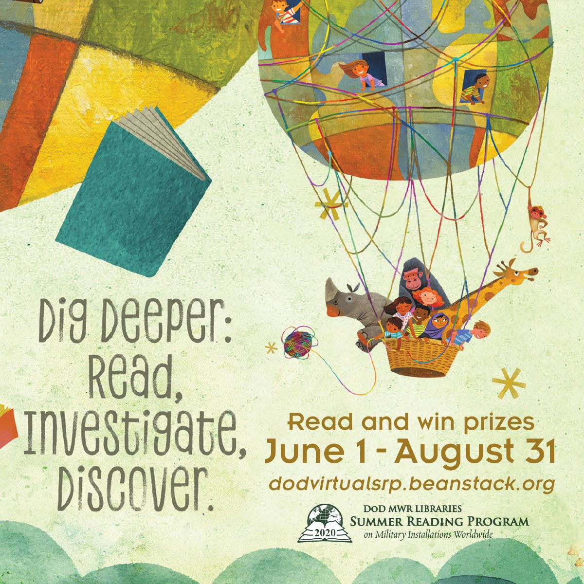 DoD Virtual Summer Reading Program