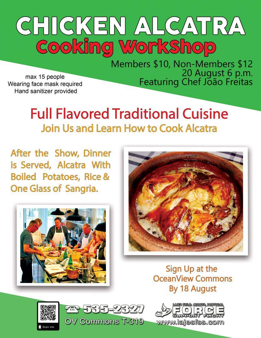 Chicken Alcatra Cooking Workshop