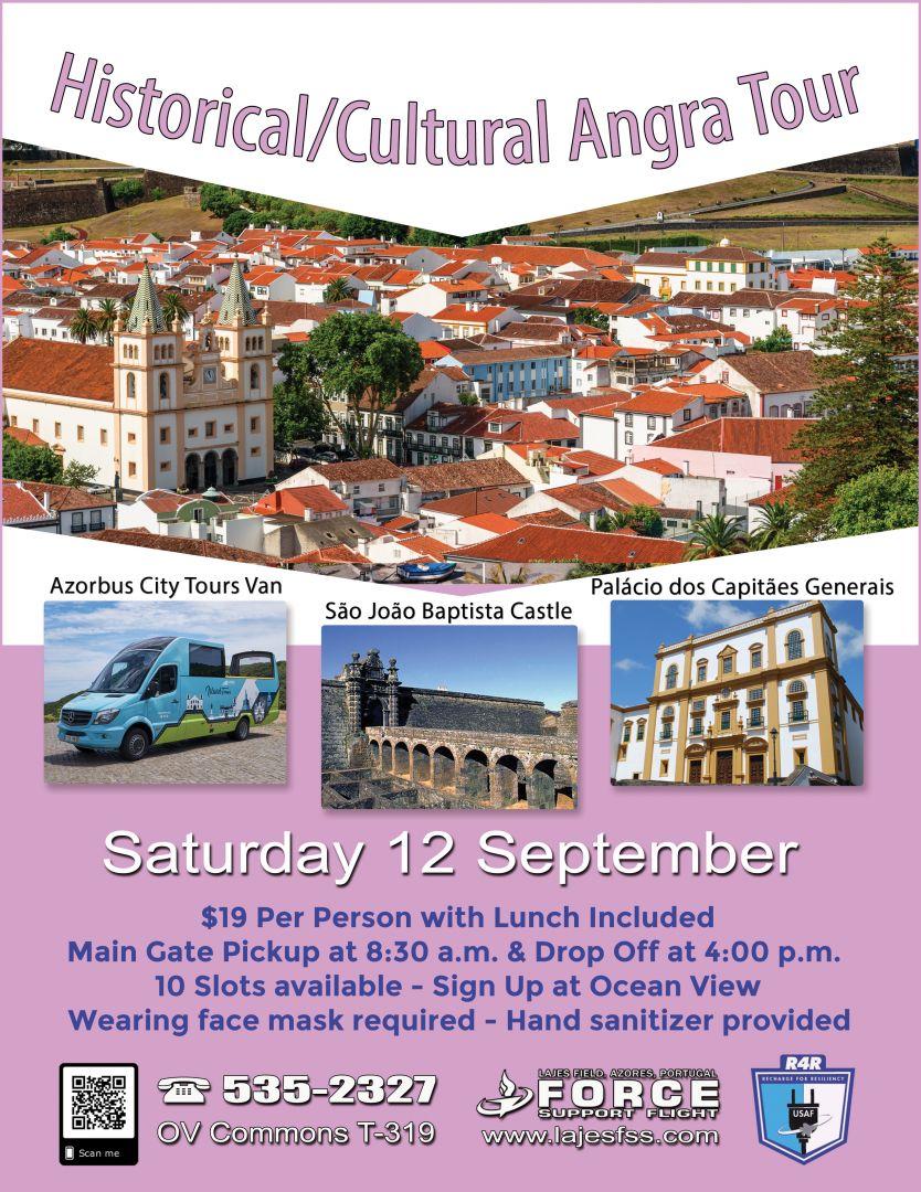Historical / Cultural Angra Tour