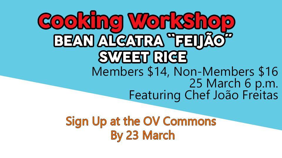 Bean Alcatra ``Feijão´´ Sweet Rice Cooking WorkShop
