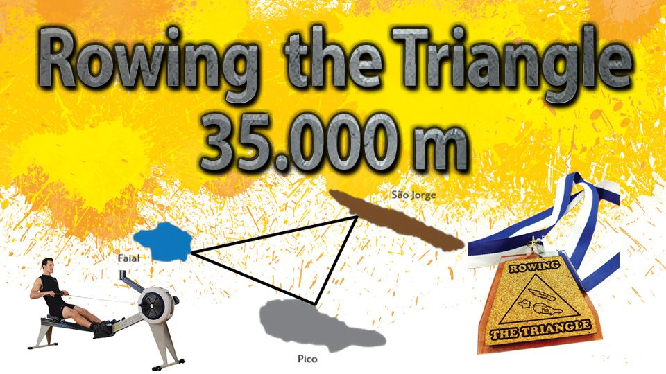 Rowing the Triangle 35.000m
