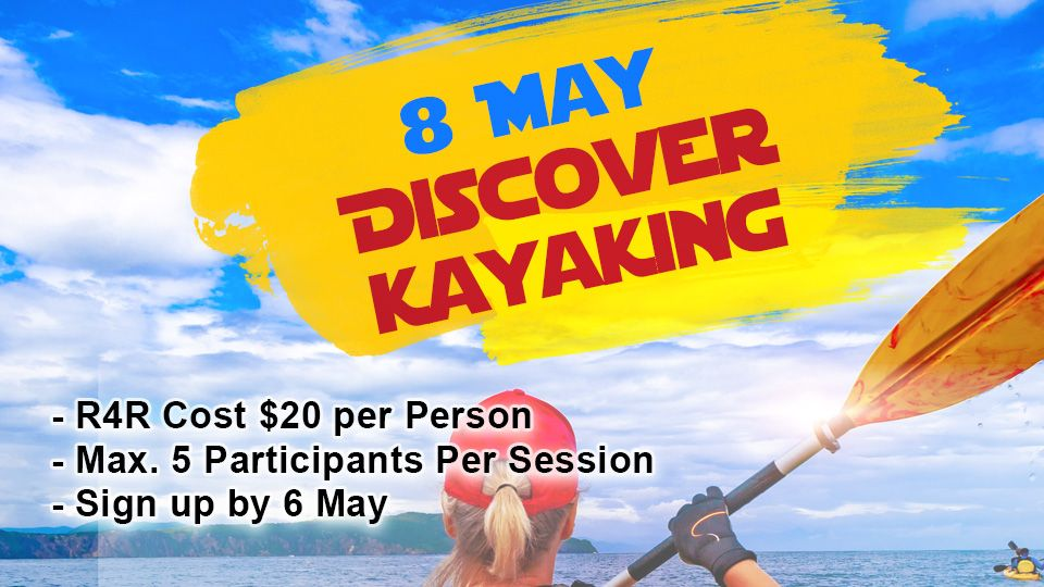 Discover kayaking 8 May