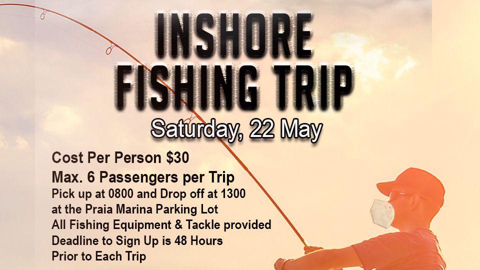 Inshore Fishing Trip 22 May