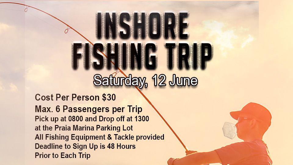 Inshore Fishing Trip 12 June