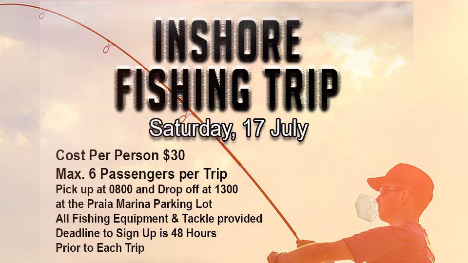 Inshore Fishing Trip 17 July