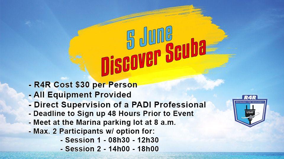 Discover Scuba 5 June