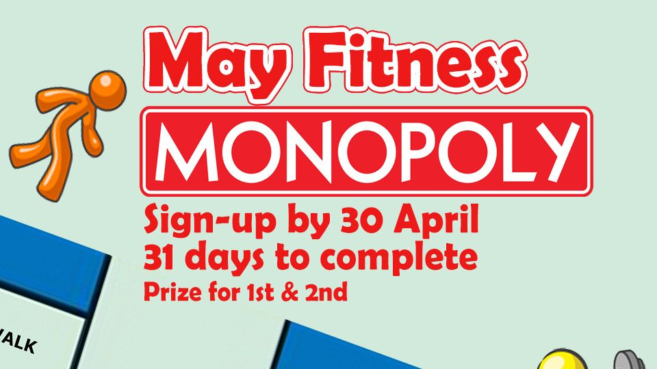 May Fitness Monopoly