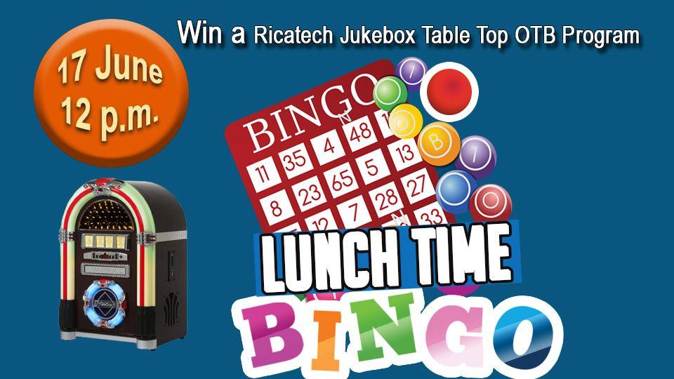 Lunch Time Bingo 17 June
