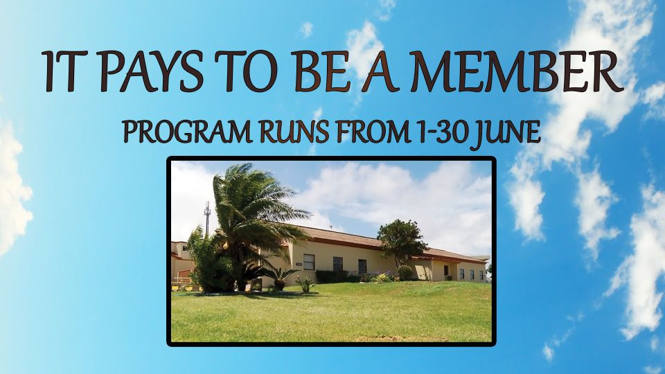 It Pays to be a member June