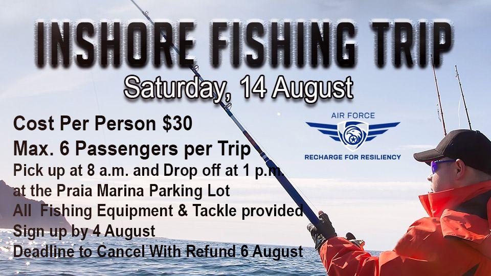 Inshore Fishing Trip 14 August