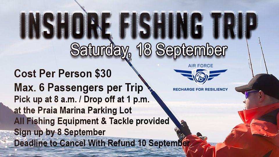 Inshore Fishing Trip 18 September