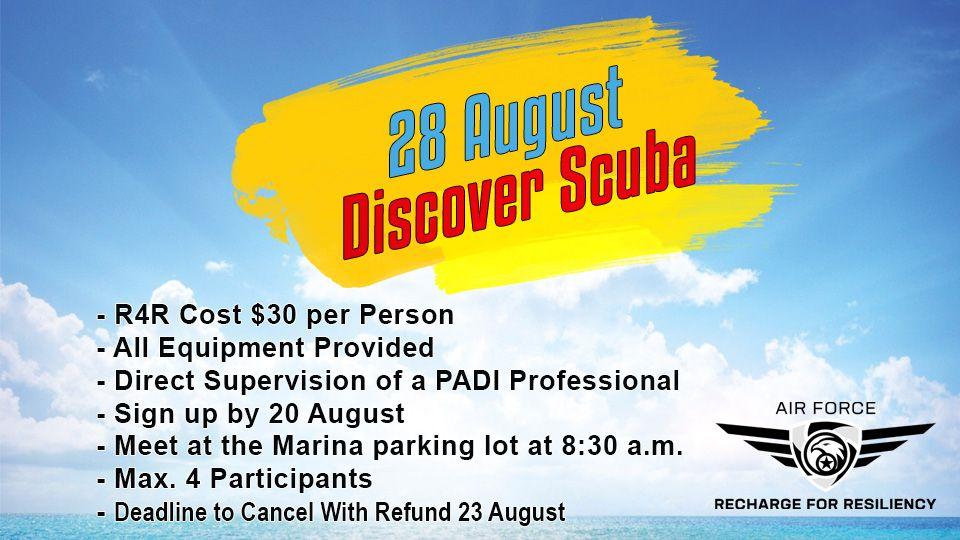 Discover Scuba 28 August