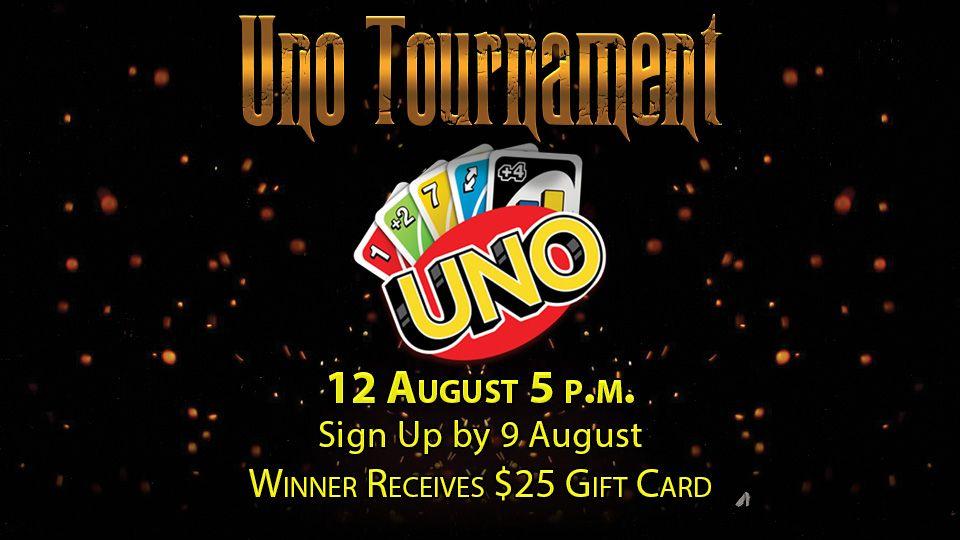 Uno Tournament 12 August