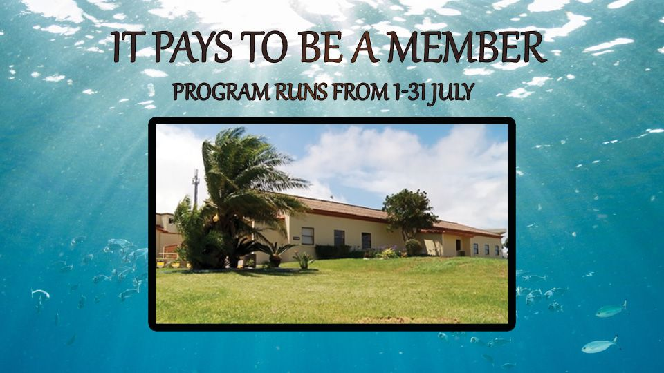 It Pays to be a member July