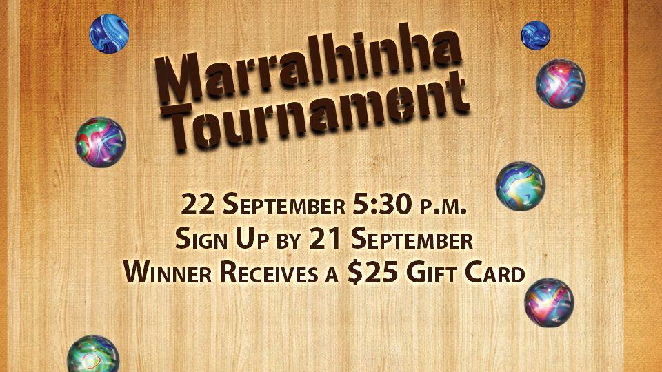 Marralhinha Tournament 22 September
