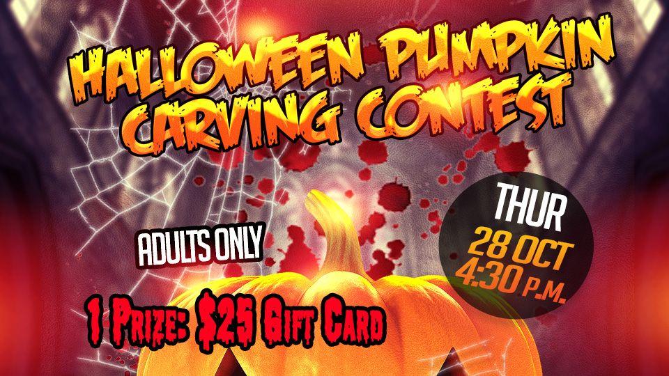 Halloween Pumpkin Carving Contest