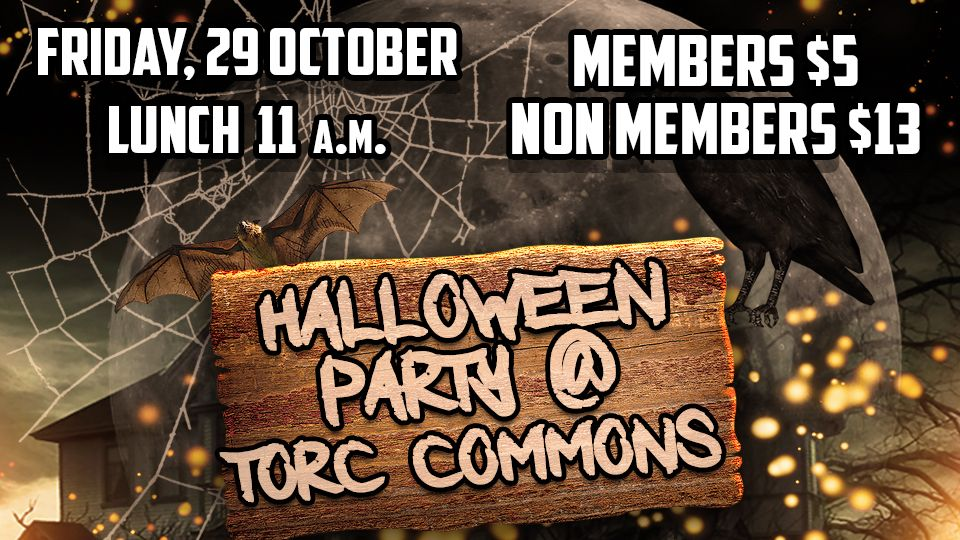Halloween Party @ TORC Commons