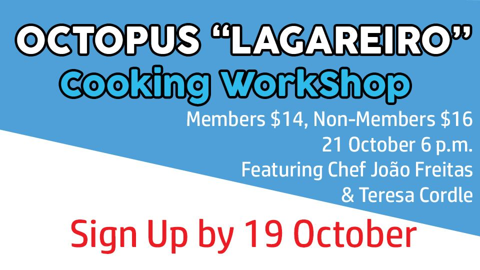 Octopus ''Lagareiro'' Cooking WorkShop