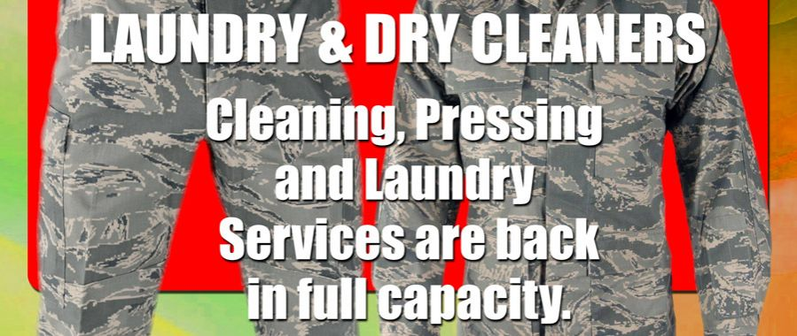 Cleaning & Pressing Services Are Back