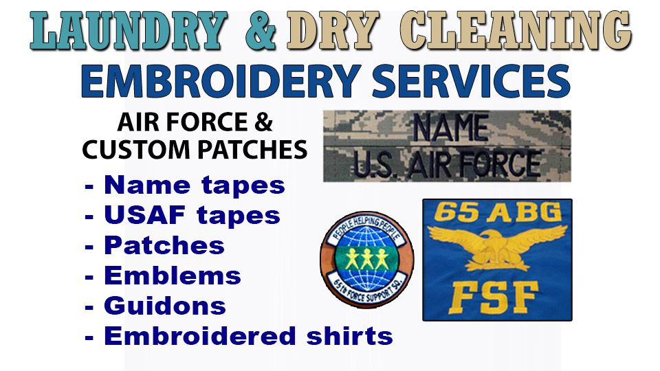 Embroidery Service at the Laundry