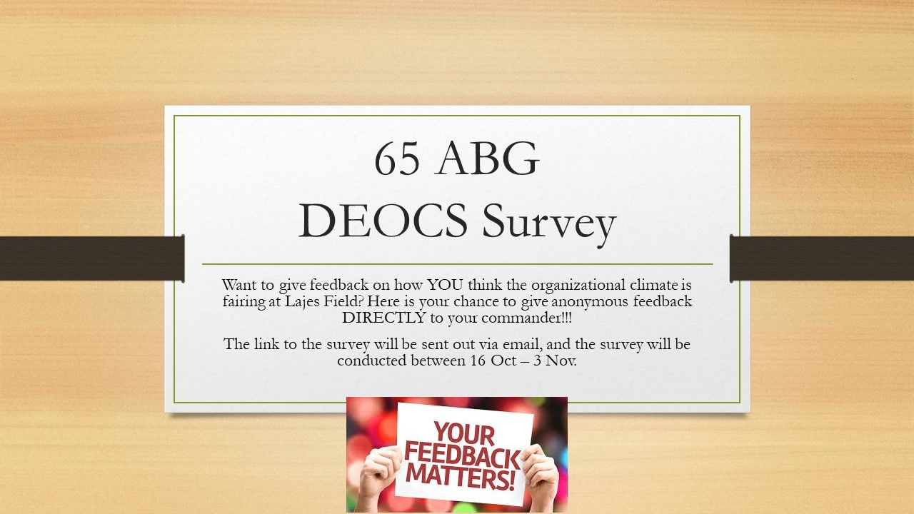 DEOCS Survey