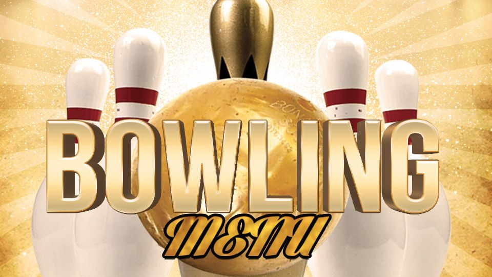 Bowling Menu