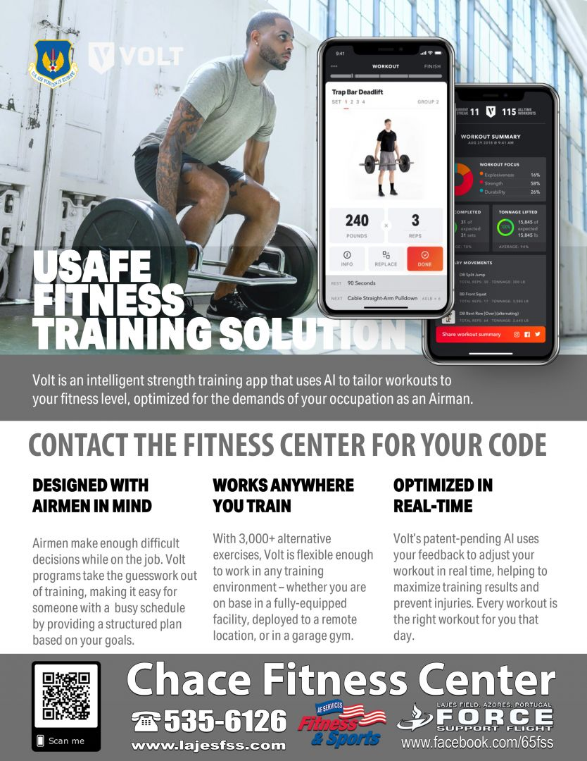 USAFE Fitness Training Solution